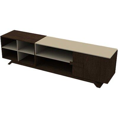 Artesano 87 TV Stand Color: Wenge/Caramel