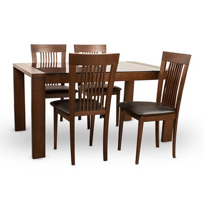 Arcadia 5 Piece Dining Set