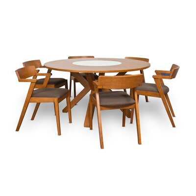 Solomon 7 Piece Dining Table Set