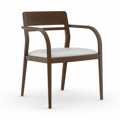 Abbott Open Back Guest Chair Seat Color: Dolce White