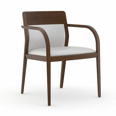 Abbott Half Upholstered Back Guest Chair Color: Dolce White