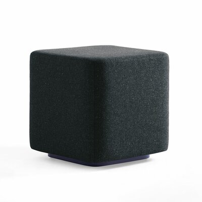 Dwell Ancillary Square Ottoman Color: Dolce Indigo