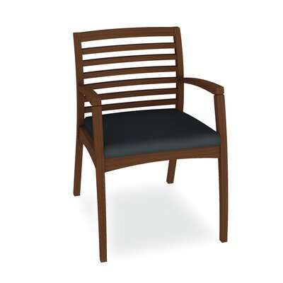 Beo Ladder Back Guest Chair Color: Dolce Indigo