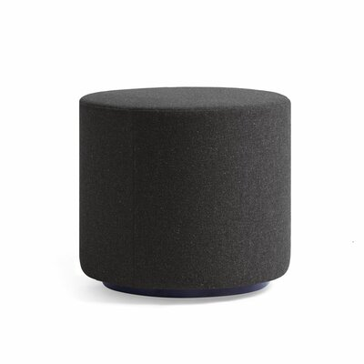 Dwell Ancillary Round Ottoman Color: Dolce Black