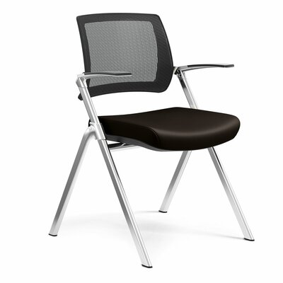 Flip Nesting Guest Chair Seat Color: Dolce Chocolate