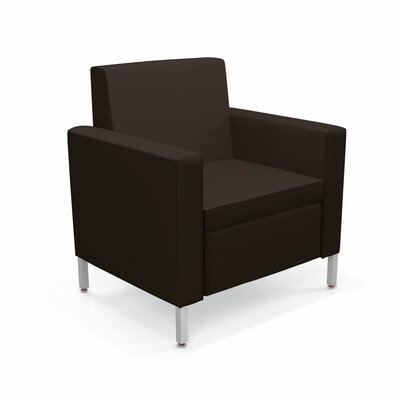 Villa One-Seat Lounge Chair Color: Dolce Chocolate