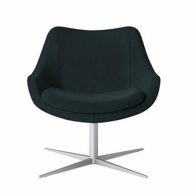 Bloom Swivel Lounge Chair Color: Dolce Indigo