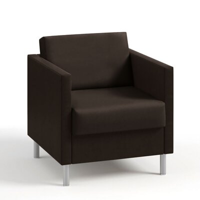 Boyd One Seater Lounge Chair Color: Dolce Chocolate