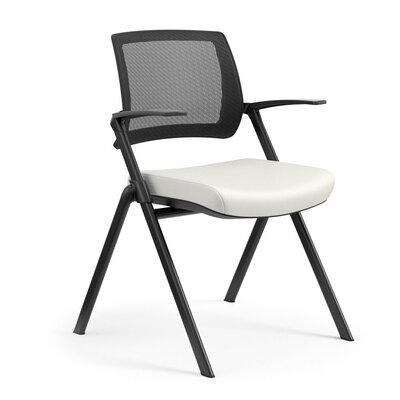 Flip Nesting Guest Chair Seat Color: Dolce White