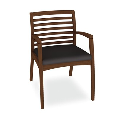 Beo Ladder Back Guest Chair Color: Dolce Black