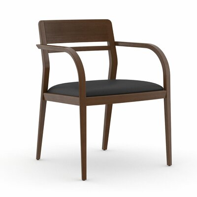 Abbott Open Back Guest Chair Seat Color: Dolce Black