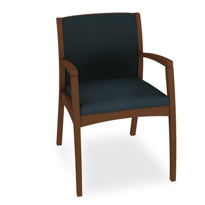 Beo Fully Upholstered Back Guest Chair Color: Dolce Indigo