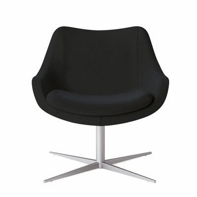 Bloom Swivel Lounge Chair Color: Dolce Black