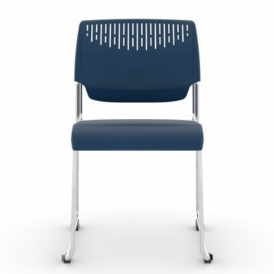 Poly Stacker Guest Chair Color: Navy