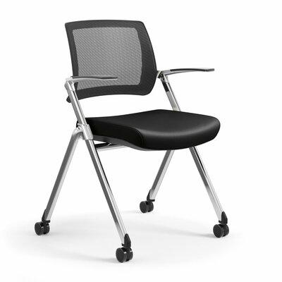 Flip Nesting Guest Chair Seat Color: Dolce Black