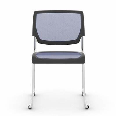 Poly Mesh Stacker Side Guest Chair Color: Big Sky