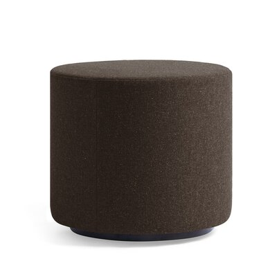 Dwell Ancillary Round Ottoman Color: Dolce Chocolate