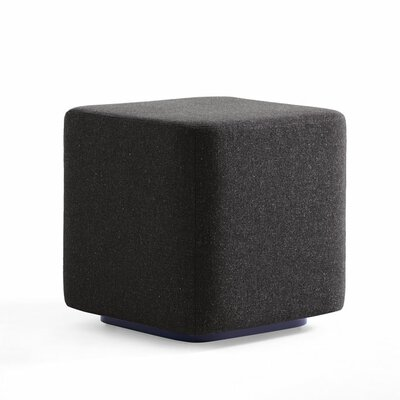 Dwell Ancillary Cube Ottoman Color: Dolce Black