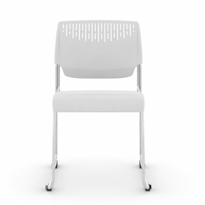 Poly Stacker Guest Chair Color: White