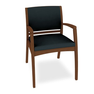Beo Three Quarter Upholstered Back Guest Chair Color: Dolce Indigo