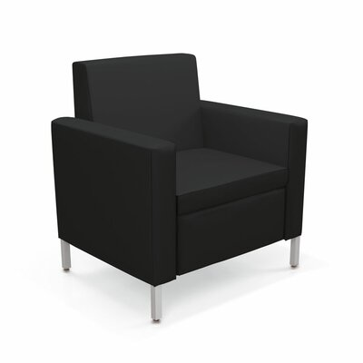 Villa One-Seat Lounge Chair Color: Dolce Black