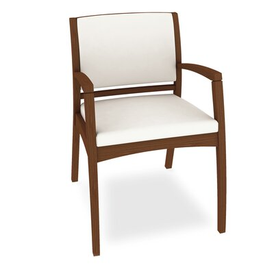 Beo Three Quarter Upholstered Back Guest Chair Color: Dolce White