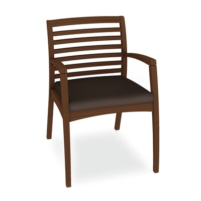 Beo Ladder Back Guest Chair Color: Dolce Chocolate