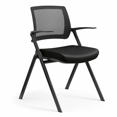 Flip Nesting Guest Chair Seat Color: Dolce Black