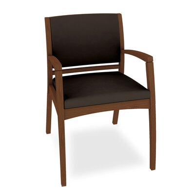 Beo Three Quarter Upholstered Back Guest Chair Color: Dolce Chocolate