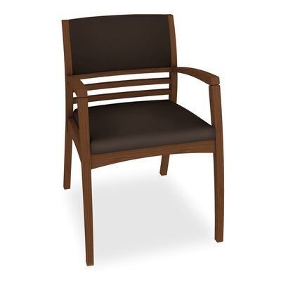 Beo Half Upholstered Back Guest Chair Color: Dolce Chocolate