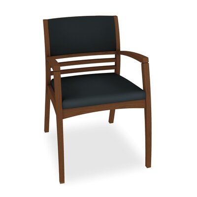 Beo Half Upholstered Back Guest Chair Color: Dolce Indigo