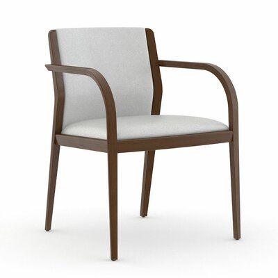 Abbott Fully Upholstered Back Guest Chair Color: Dolce White
