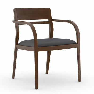 Abbott Open Back Guest Chair Seat Color: Dolce Indigo
