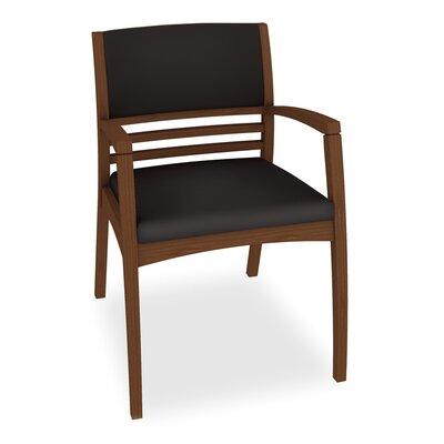 Beo Half Upholstered Back Guest Chair Color: Dolce Black