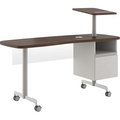 Optimal Desk Open File Pedestal Product Photo