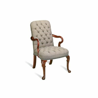 Independence Springfield Button Tufted Swivel Arm Chair