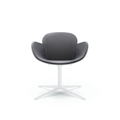 Splendor Guest Chair Seat Color: Flock Heather Gunmetal