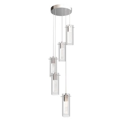 Foxburg 5-Light Cascade Pendant