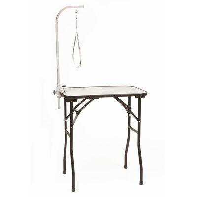 Professional Table with Grooming Arm Size: Small (30D x 18W x 33H)