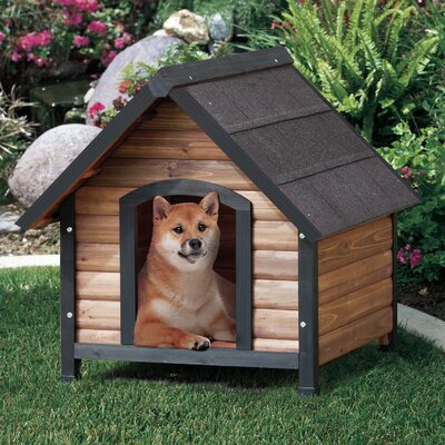Outback Extreme Country Lodge Dog House Size: Small (30 H x 27.2 W x 30 D)