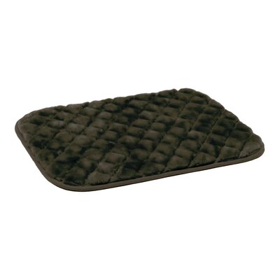 SnooZZy Dog Mat Size: Medium (30 L x 19 W), Color: Chocolate