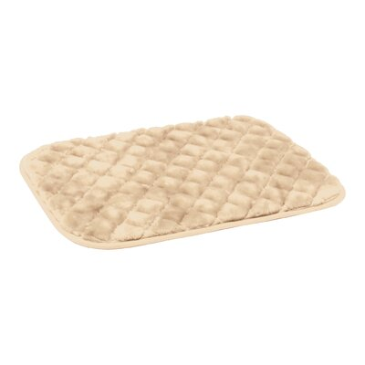 SnooZZy Dog Mat Size: Small (23 L x 17 W), Color: Natural