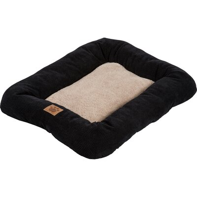 Snoozzy Mod Chic Low Bumper Mat Color: Black, Size: Small (25
