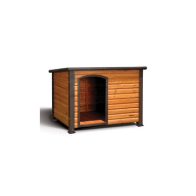 Outback Log Cabin Dog House Size: X-Large