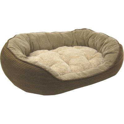 Pillow Soft Daydreamer Dog Bed Size: Small (21 H x 19 W), Color: Brown