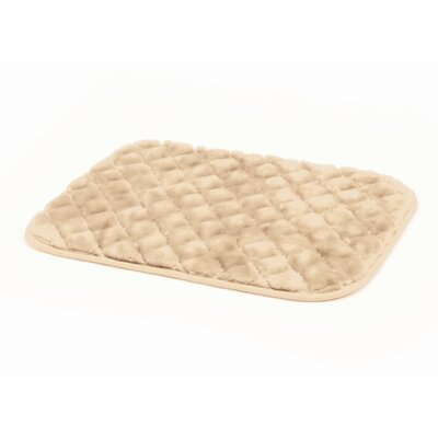 """SnooZZy Dog Mat Size: Small (23"""" L x 17"""" W), Color: Natural"""