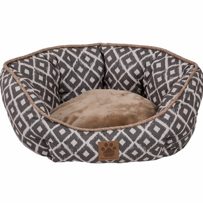 Maxine Ikat Clamshell Bed Color: Gray