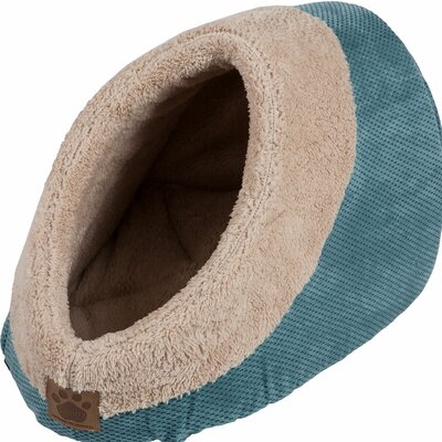 Maxine Mod Chic Hide and Seek Bed Color: Teal