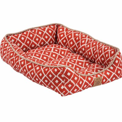 Snoozzy Ikat Drawer Bed Color: Orange