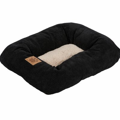 Snoozzy Mod Chic Low Bumper Mat Size: Mini (18 L x 14 W), Color: Black